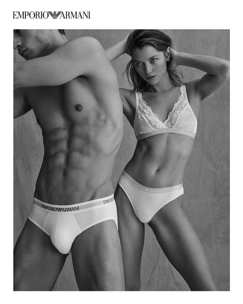 Emporio Armani Underwear unveils spring-summer 2021 campaign.