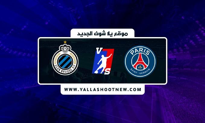 نتيجة مباراة باريس سان جيرمان وكلوب بروج  بتاريخ اليوم 2021/9/15 في دوري ابطال اوروبا