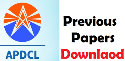 APDCL Previous Papers Download