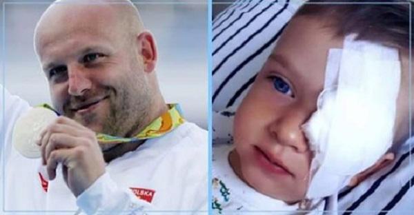 Польский чемпион мира и олимпийский призер продал медаль, чтобы дать шанс спастись ребенку