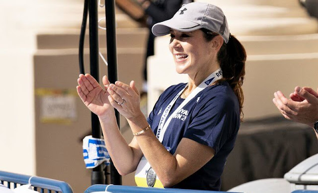 Crown Princess Mary took part in the Royal Run 2021