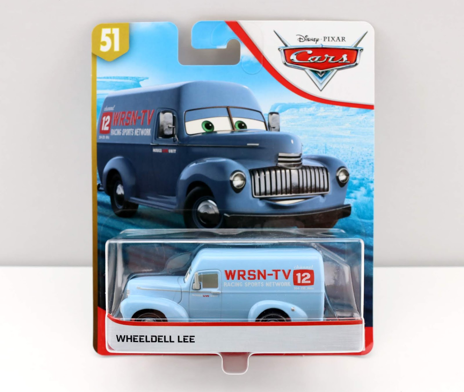 Cars 3 Wheeldell Lee diecast