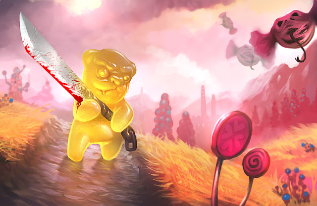 Multiuniversum murderous gummy bear