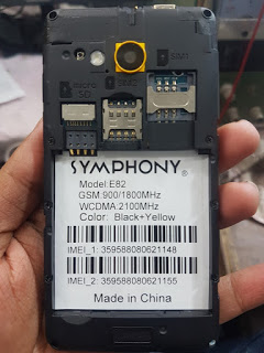 Symphony E82 MT6570 Official Customer Care Flash File Without Password By MobileflasherBD