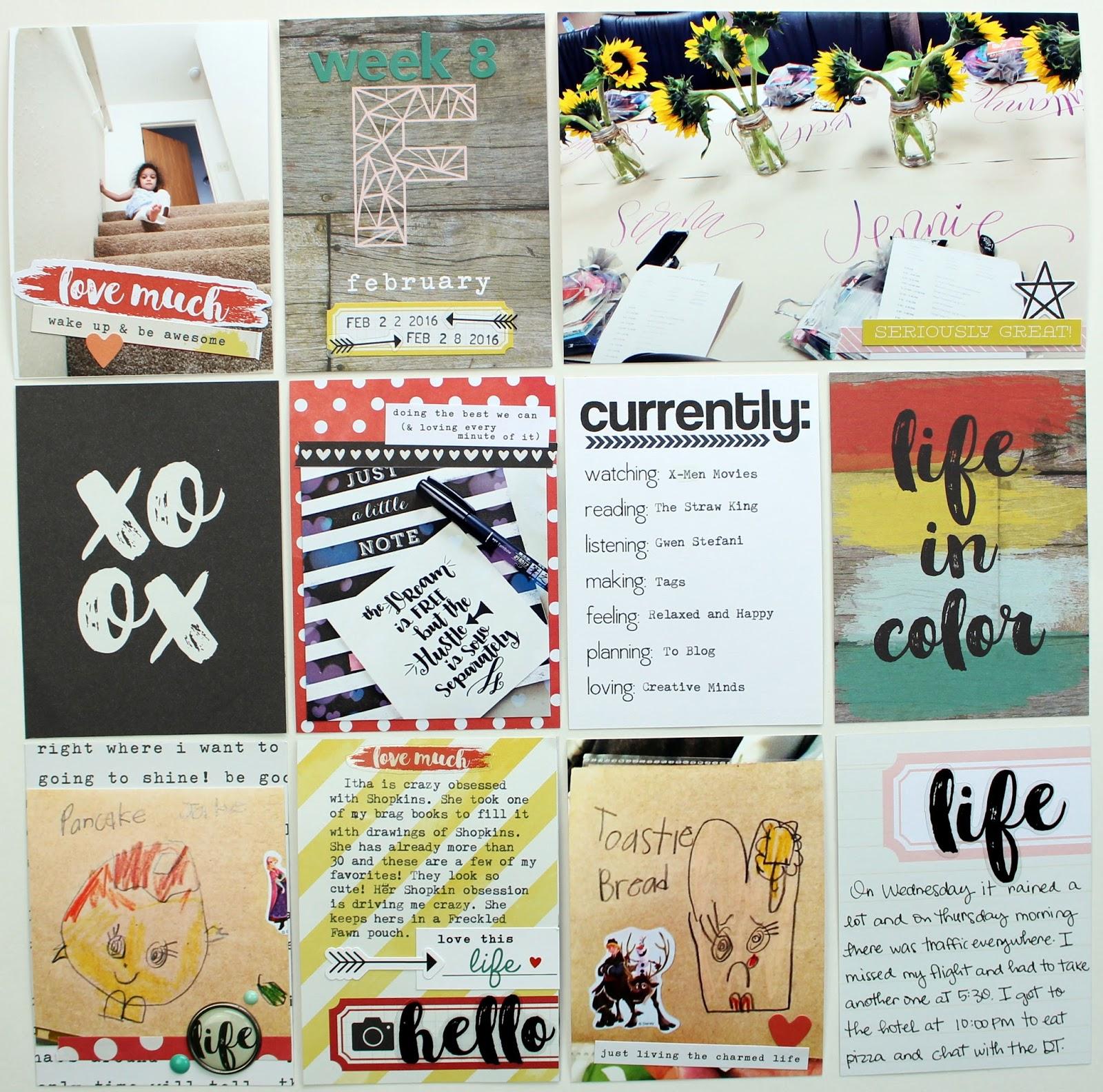 Life In Color Pocket Pages ~ EarthyScrap
