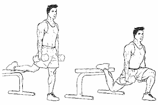3. Dumbbell Split Squat