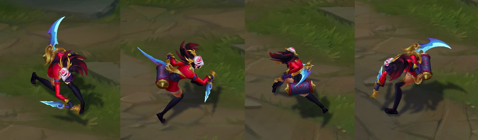 Blood Moon Akali now has a unique recall : akalimains