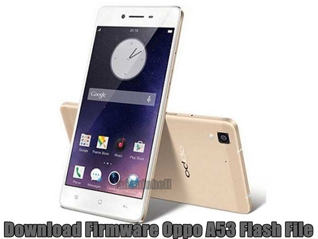 Download Firmware Oppo A53 Flash File