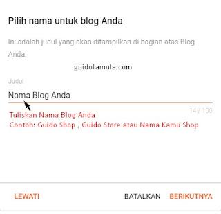 Kreasikan nama blog kamu untuk nama bisnis yang oke punya