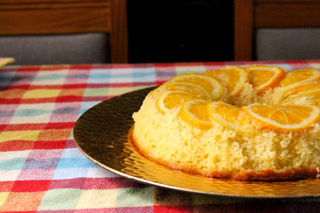bolo de laranja, bolo de laranja fofinho, bolo tropical, mamãe sortuda