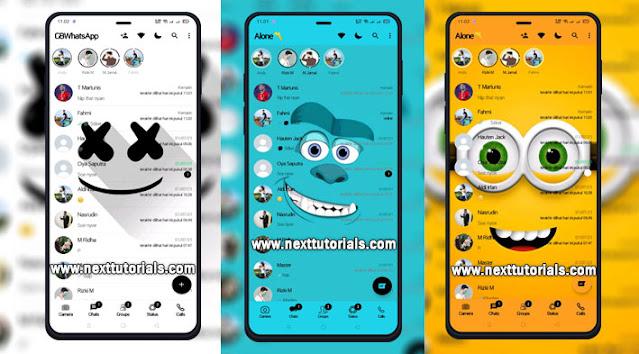 Kumpulan Tema GB WhatsApp Update Tampilan Keren 2021,gbwhatsapp anti banned,tema gb wa kartun 2021,download wa mod anti blokir,gbwa terbaru,