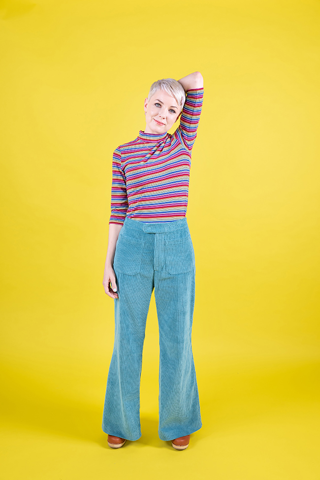 Jessa trousers and shorts sewing pattern - Tilly and the Buttons