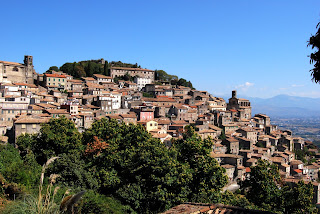 Ciociaria has many towns built on rugged hillsides