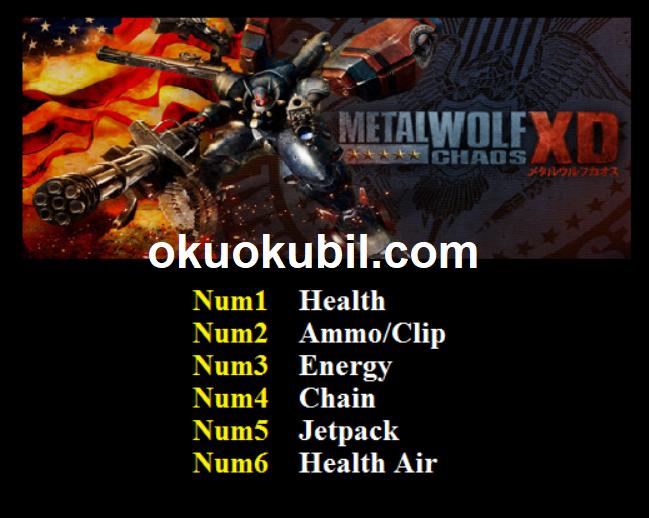 Metal Wolf Chaos XD (PC) Ammo Clip – Süper Enerji Can +6 Trainer Hilesi İndir