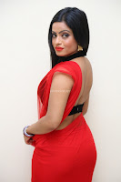 Aasma Syed in Red Saree Sleeveless Black Choli Spicy Pics ~  Exclusive Celebrities Galleries 064.jpg