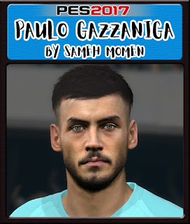 PES 2017 Faces Paulo Gazzaniga by Sameh Momen