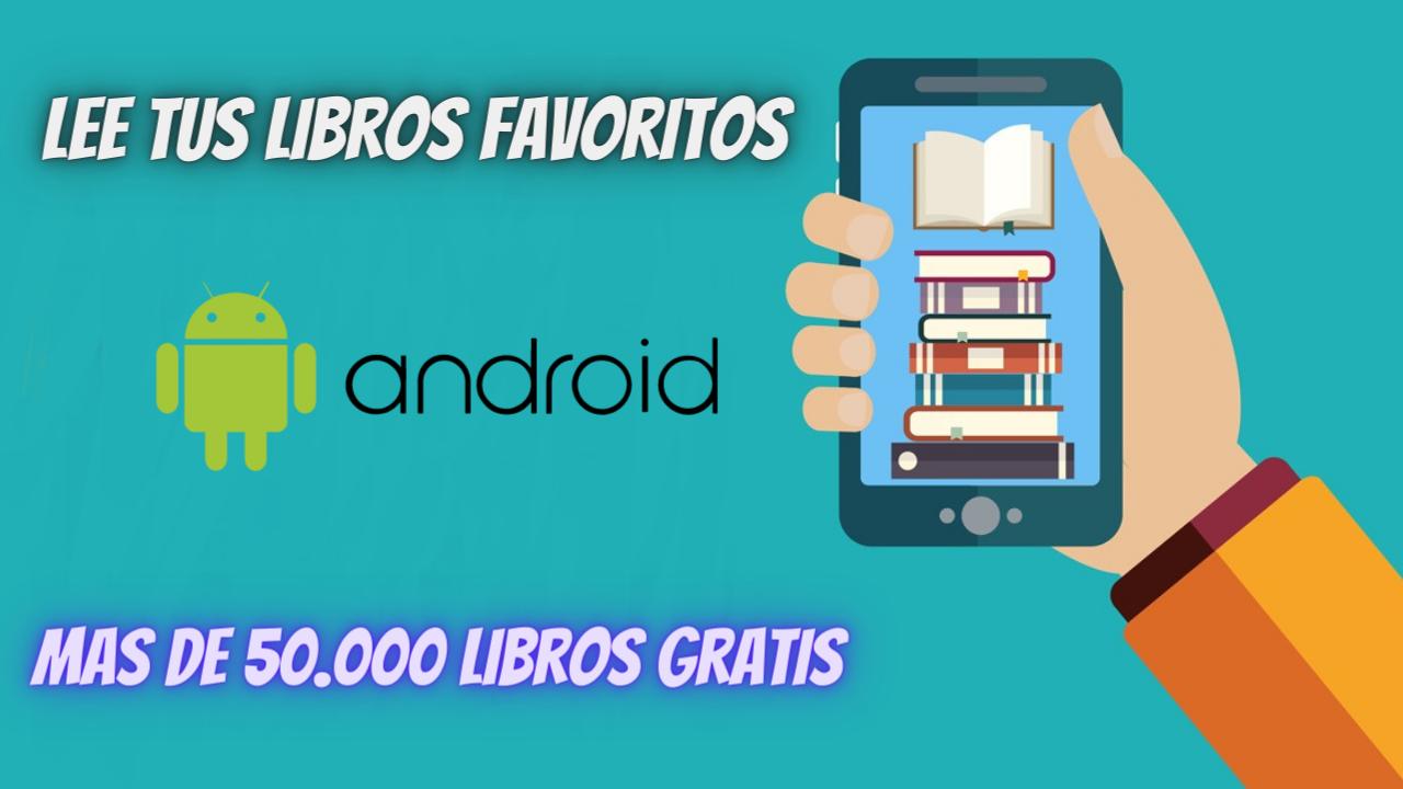 Aplicación para leer libros en Android