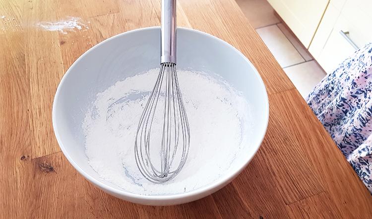 Crème pâtissière : maïzena et sucre