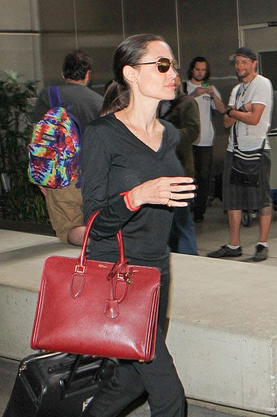 Angelina in Los Angeles