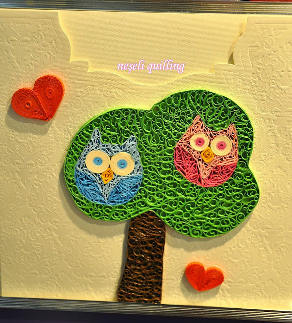neşeli quilling at fair