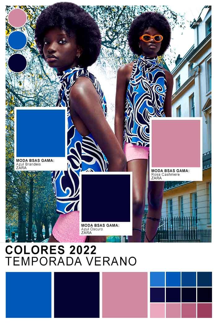 Moda verano 2022 colores