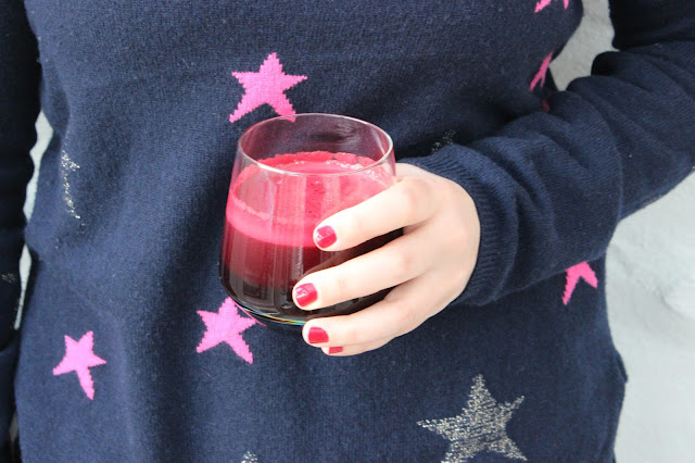 beetroot apple and spinach juice