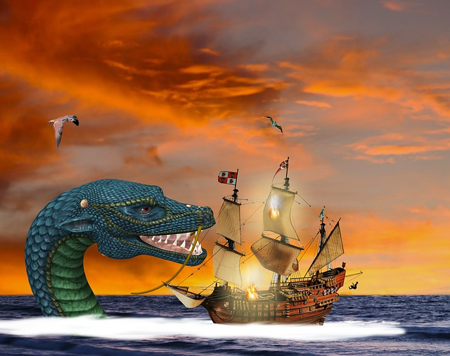 The mystery of sea monster
