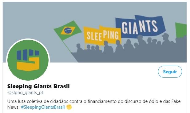 A dificuldade do combate às fake news e o crescimento rápido do Sleeping Giants Brasil
