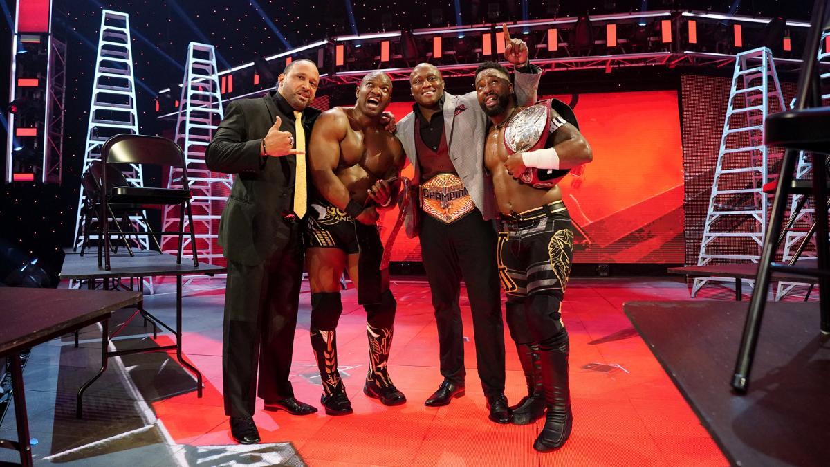 Shelton Benjamin dedica vitória no WWE TLC ao falecido Shad Gaspard