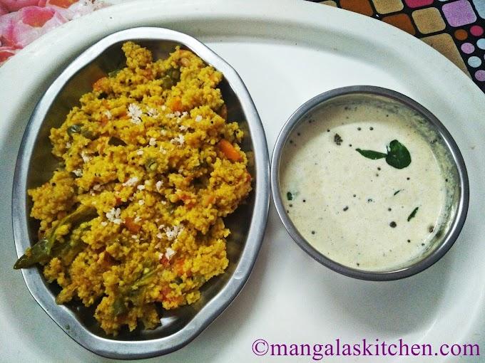 Kodo Millet Upma | Varagu Khichdi | Low Calorie Millet Recipe