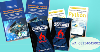 buku python web codeigniter android