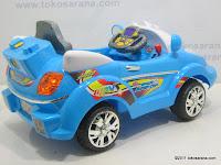 Mobil Mainan Aki ELITE 633R SPACE SUPER COP dengan BOOM BOX 5