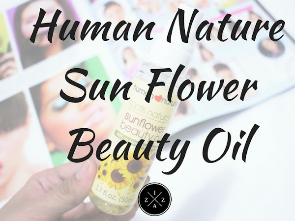 Human Nature Sun Flower Beauty Oil