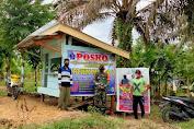 Babinsa Koramil 420-03/Pauh Desa Petiduran Baru Melaksanakan Komsos Dan Monitor Pos PPKM Desa Binaan