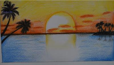 تعلم رسم منظر طبيعي