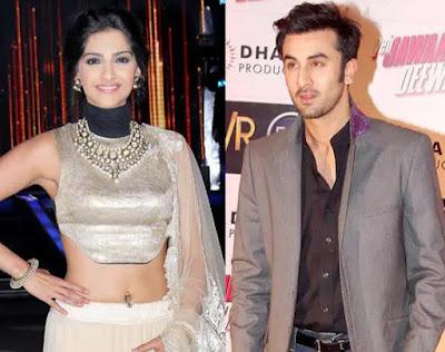 Bollywood affair ranbir and sonam