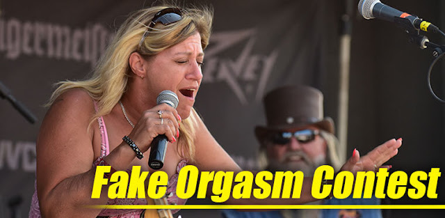 Fake Orgasm Contest