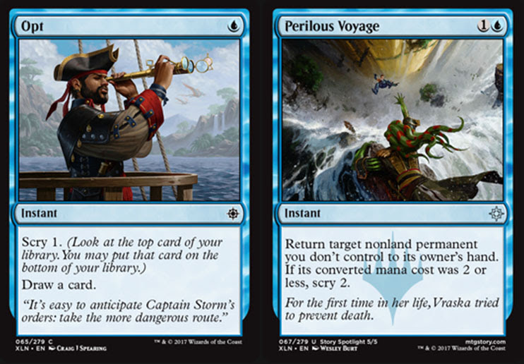Magic The Gathering Adventures Ixalan Set Review Blue