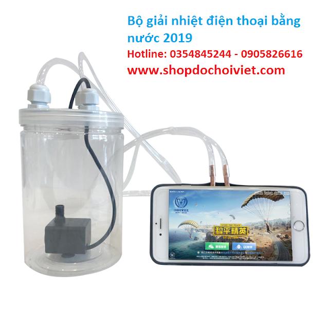 Bộ giải nhiệt cho điện thoại bằng nước 2019