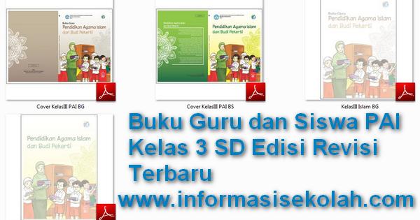 Download Buku Guru Dan Siswa Pai Kelas 3 Sd Mi Edisi Revisi Terbaru File Sekolah