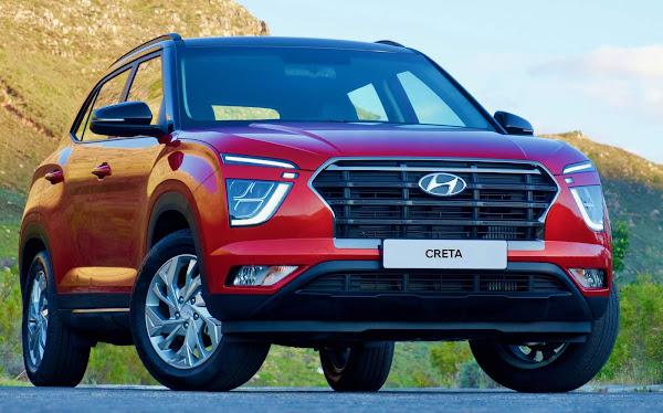 Novo Hyundai Creta 2021 1.4 Turbo DCT chega à África