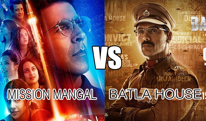 Mission Mangal and Batla House: Two Big Bollywood Films Will Release