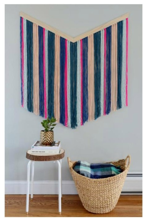 Chevron Wall Tapestry Tutorial