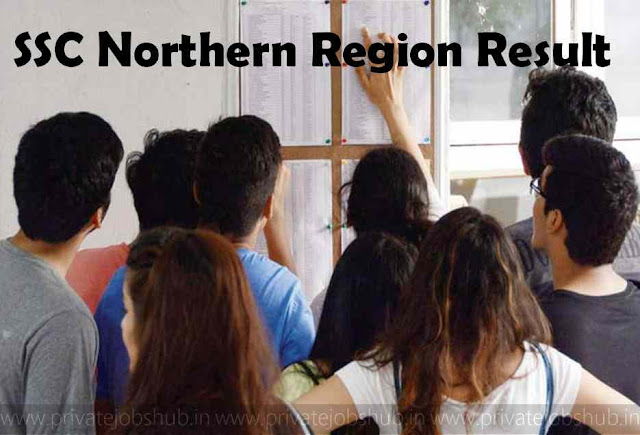 SSC Northern Region Result