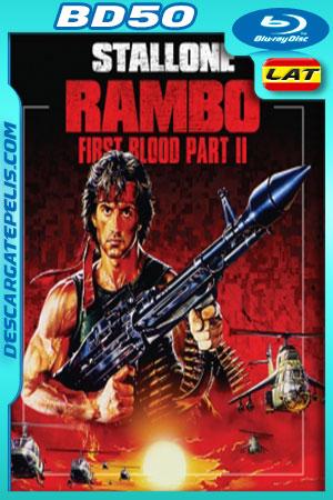 Rambo 2 (1985) BD50 Latino – Ingles