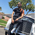 Phyno Shows Off His White Rolls Royce