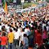 हार्दिक का रोड शो,  रूपाणी का शक्ति प्रदर्शन