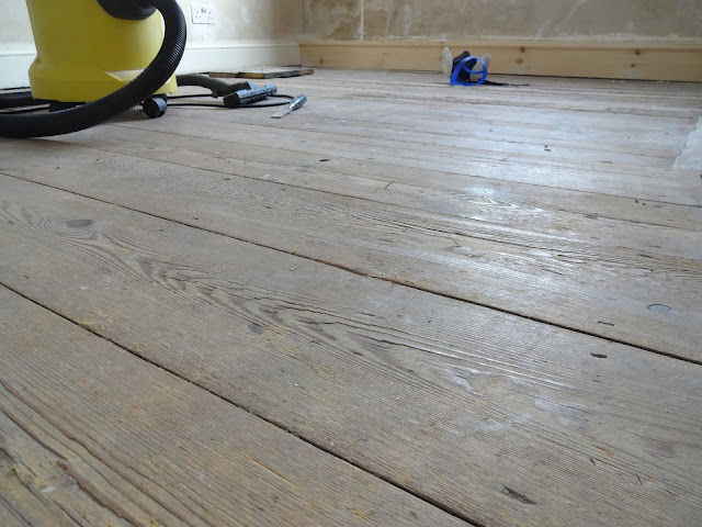 splintery floorboards