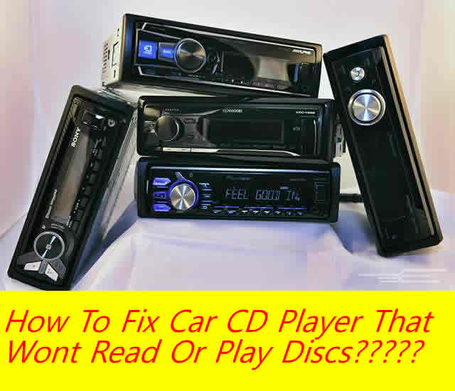 audio cd wont play in car