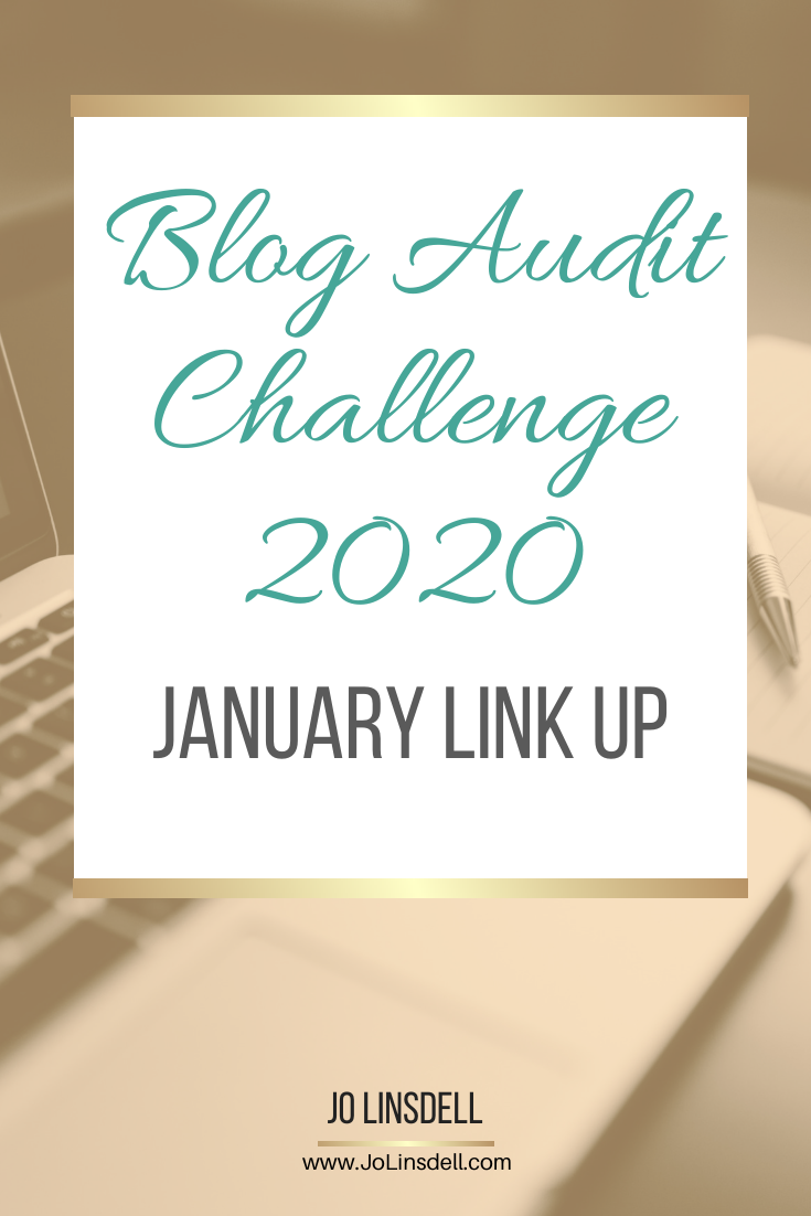 Blog Audit Challenge 2020: January Link Up #BlogAuditChallenge2020